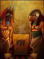 Book Cover: Egyptian Gods by PrincessTigerLili