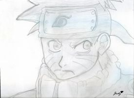 Naruto Drawing by Kami-Jazzu
