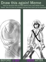 Draw agin meme assassin creed by stephanie626177