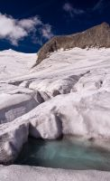 Meltwater on Ice by alban-expressed