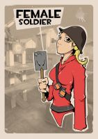 Female Soldier by pan10