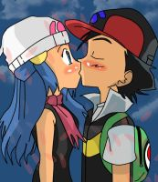 SatoHika-Kissing You by XPearlshipper210X
