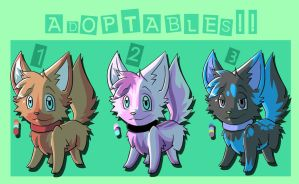 -ADOPTABLES-(CLOSED) by Kaydolf