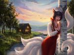 Ahri as a Russian Princess (my comm) by Adol-Miers