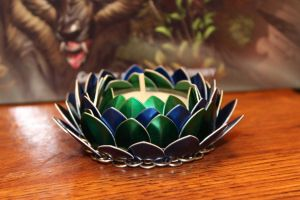 Seaside Lotus Candle Holder by SerenFey