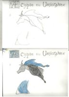THE UNFORGIVEN:  Aeclypse rough sketches. by RMC1618