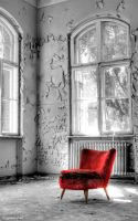 forgotten chair by derfabo