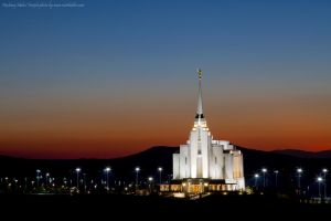 LDS Rexburg Temple by Iamidaho