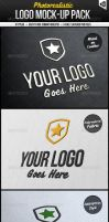 Photorealistic Logo Mock-Up Pack by carlosnance