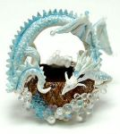 MINIATURE DRAGON BASKET by WEE-OOAK-MINIATURES