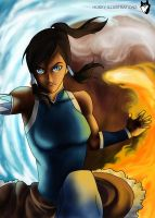 Avatar Korra by HuskyIllustrations