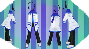 MMD Outfit 20 by MMD3DCGParts