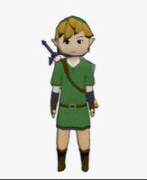 Link and his Sword, 3D Animated GIF by x3sb