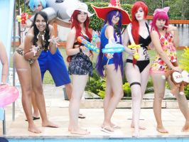 Pool Party - League of Legends by LanaKuroi