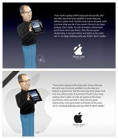 Tribute Steve jobs by imaGeac