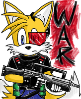 Tails goes to WAR by emichaca