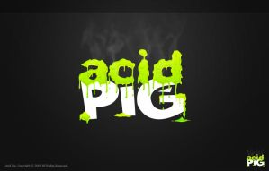Acid Pig by eyenod