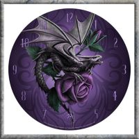 Dragon Beauty Clock by nemesisnow23