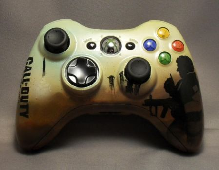 Black Ops Xbox Controller by lightstep
