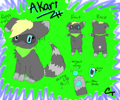 My Fursona Reference. by PineappleAddiction