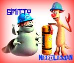 Smitty + needleman by rhodestwins