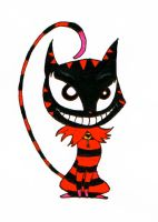 Cheshire Kitty by hAppi-IN-A-poNcho