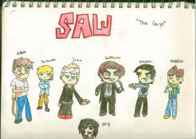 saw the guys by 4darkdazzle0