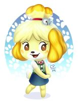 ACNL- Isabelle by tweakfox