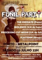 Funil Party flyer by LuneBleu