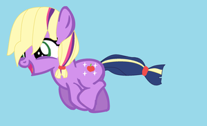 Run Sparkle Apple! by Tailmouth-Cupcake