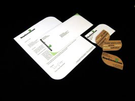 HowGreen.com Identity project by kdesigns2010
