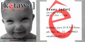 Ketawa bussines card by PropaG4nda