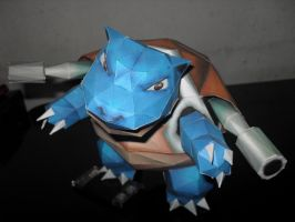 Blastoise papercraft by MichelCFK