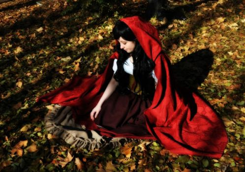 Little red riding hood by Become-one-with-me