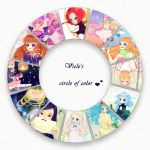 .: Meme- color wheel :. by Vicle-chan