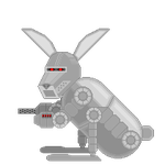 Ultra Bunny Idle Animation Test 1 by crookedcartridge