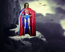 Wonder Woman is Watching and Waiting by countess1897