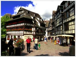 Streets of Strasbourg - 3 by Andrei-Joldos