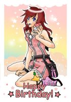 Kairi - Happy Birthday 2008 by shirononekojin