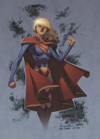 Supergirl - Ross A. Campbell colors by SpiderGuile