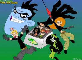 Kim Possible THE 4D RIDE by D-Stoppable