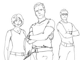 Stargate Cartoon Cast by wernerth