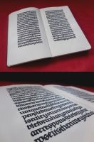 Moleskine Incunables by WhiteSylver