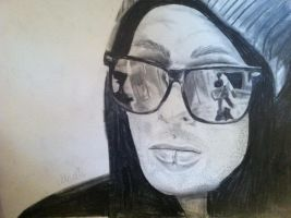 Mike Fuentes by MadTheBadCat