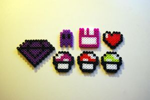Perler Beads: Randoms by Photogenic5