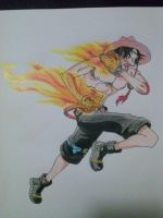 Portgas D. Ace by vegeta-goku