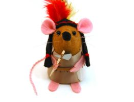 Native American Mouse by The-House-of-Mouse