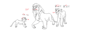 The Lion King Base 12 by CandyNtheSweetettez