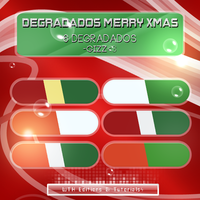 Degradados Merry Xmas by SparksInFire