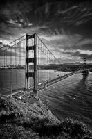 The Non-Golden Gate by TreborEevob